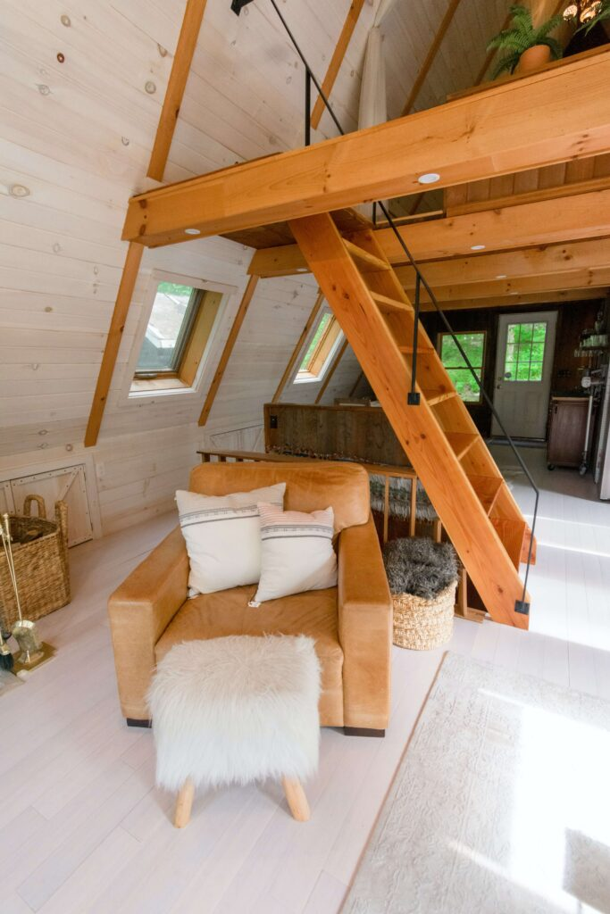 Sypialnia - loft