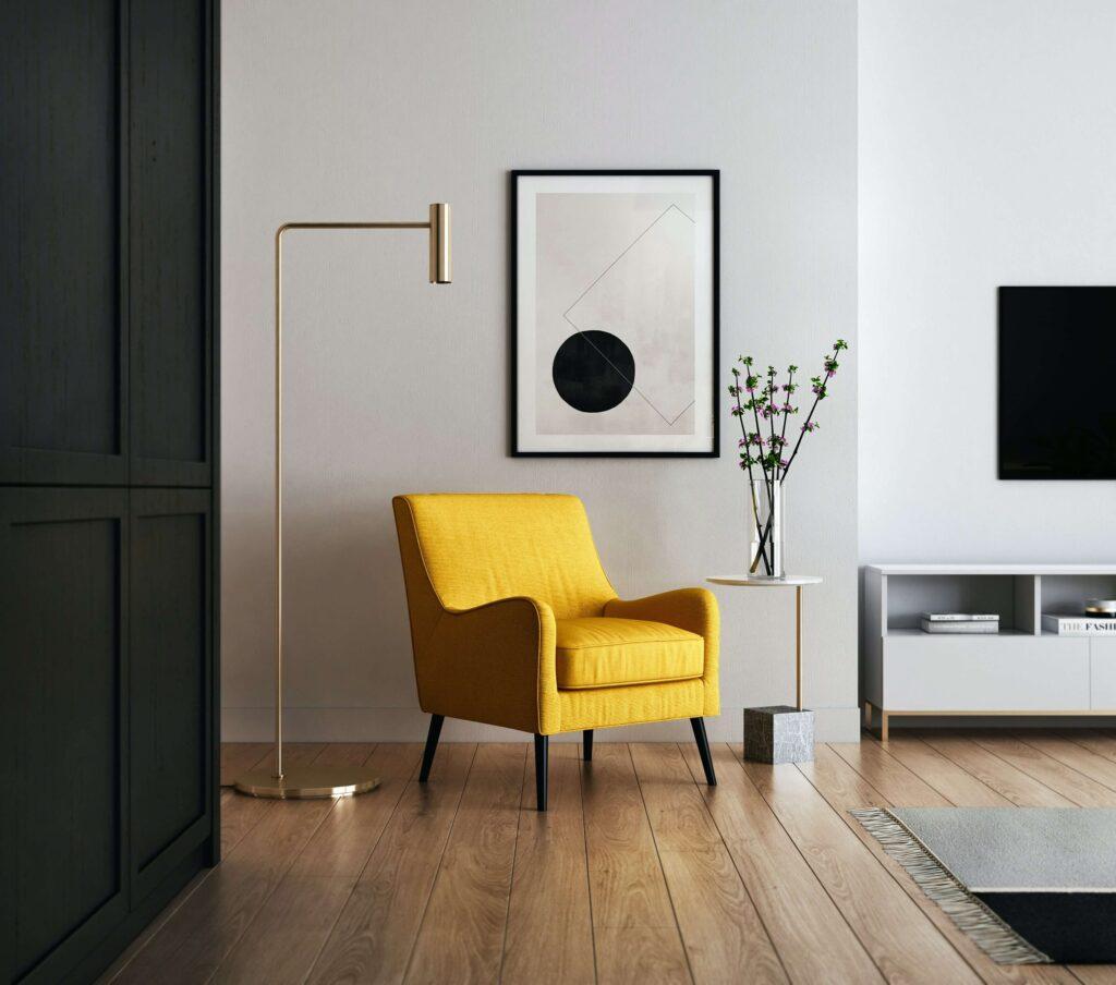 Salon - nowoczesny styl