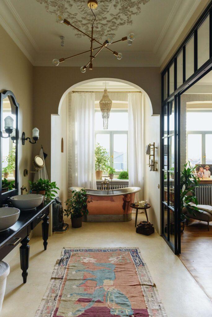Łazienka - loft