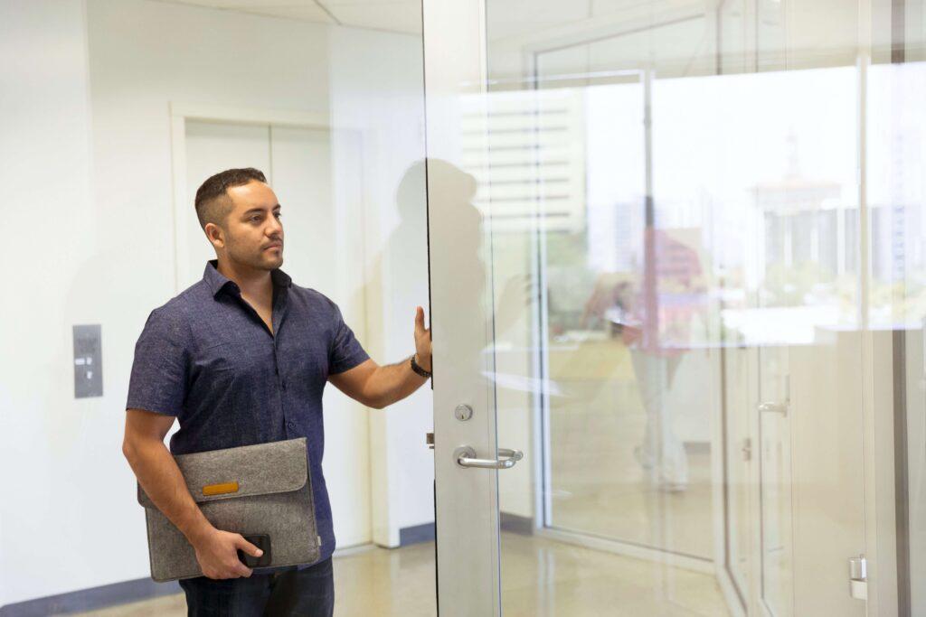 Szkło - drzwi